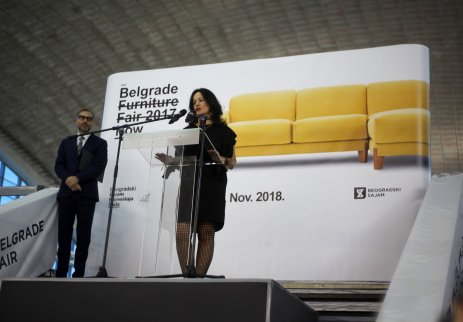Belgrade Furniture Fair, Otvaranje 2018.